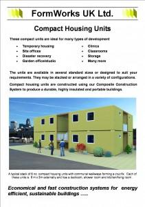 Compact housing units 140220